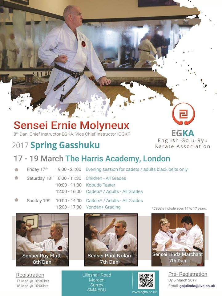 Spring Gasshuku EGKA