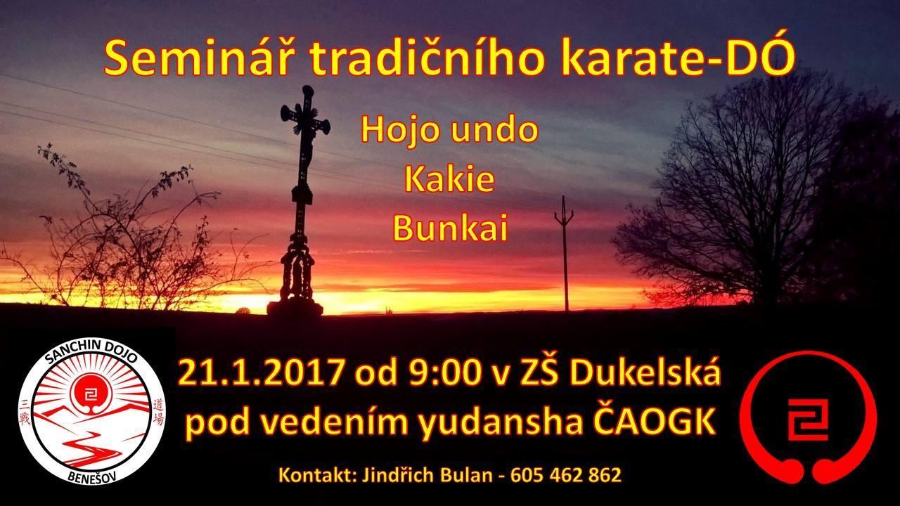 Seminář tradičního KARATE - DÓ