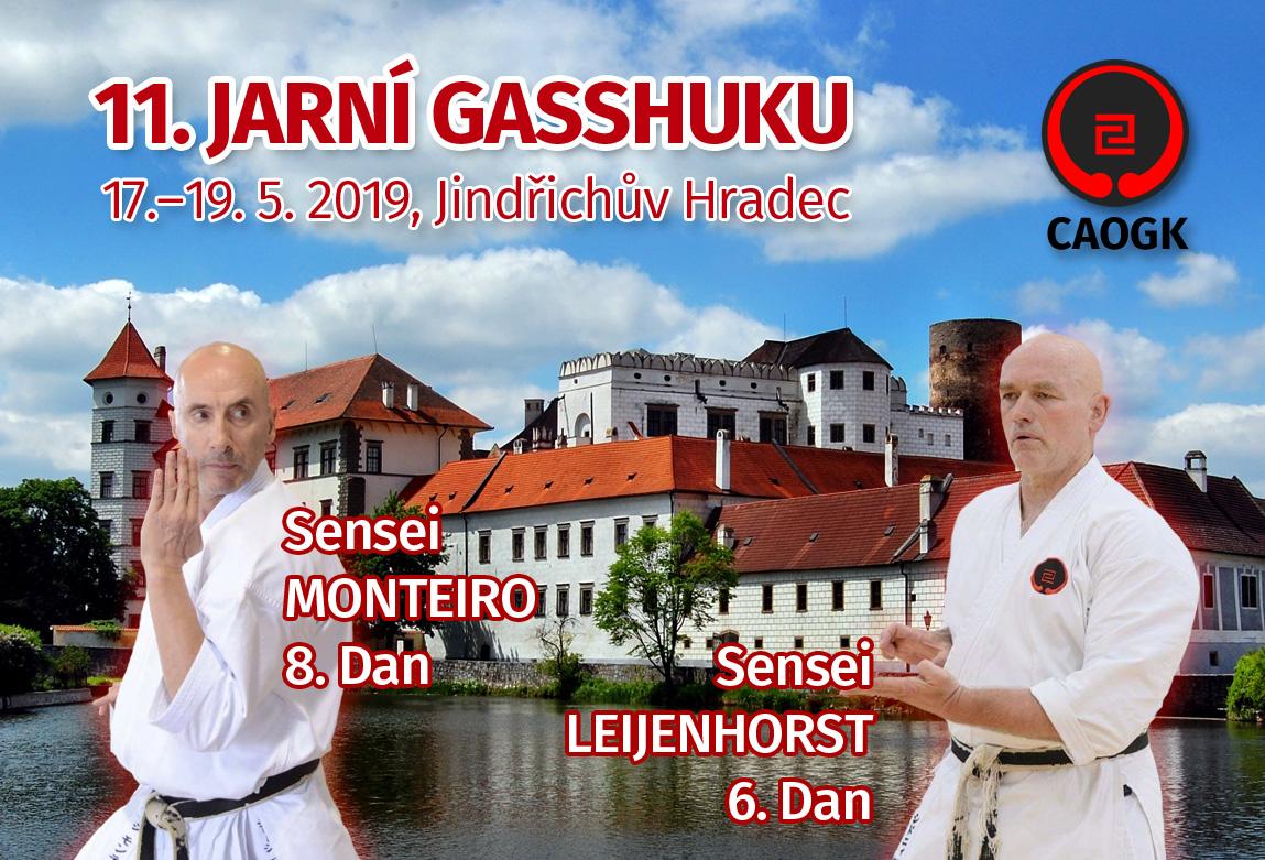 11. Jarní Gasshuku 2019, Jindřichův Hradec